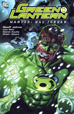 Green Lantern Wanted Hal Jordan