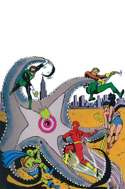 Cover for the Justice League of America Chronicles Vol. 1 Trade Paperback