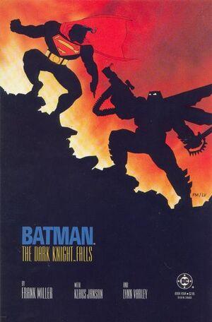 Cover for Batman: The Dark Knight Returns #4 (1986)