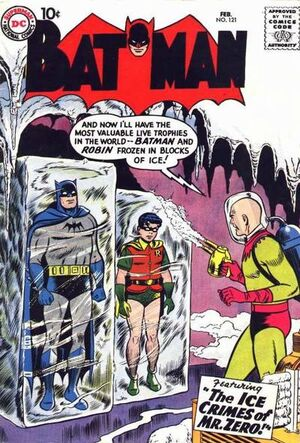 Cover for Batman #121 (1959)