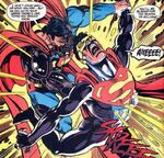 Cyborg Superman vs Eradicator 01