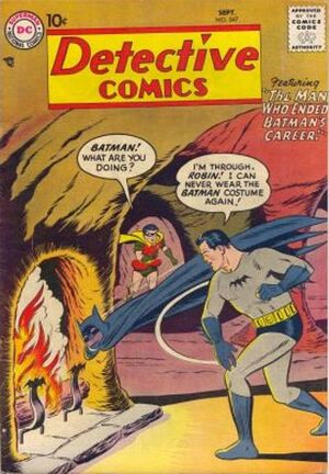 Cover for Detective Comics #247 (1957)