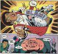 Kilowog punches Tawny Young