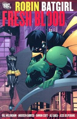 Cover for the Robin/Batgirl: Fresh Blood Trade Paperback
