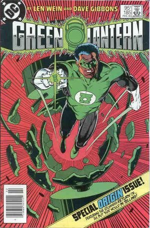 Cover for Green Lantern #185 (1985)