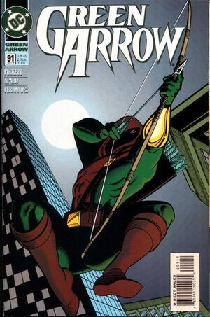 Cover for Green Arrow #91 (1994)