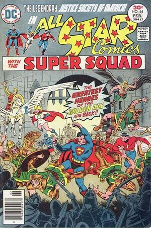 Cover for All-Star Comics #64 (1977)