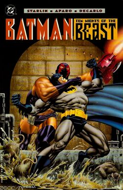 Cover for the Batman: Ten Nights of the Beast Trade Paperback