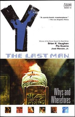 Cover for the Y: The Last Man: Whys and Wherefores Trade Paperback