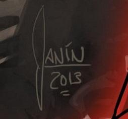 Mikel Janin Signature