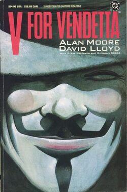 Cover for the V for Vendetta Trade Paperback