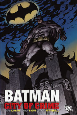 Cover for the Batman: City of Crime Trade Paperback