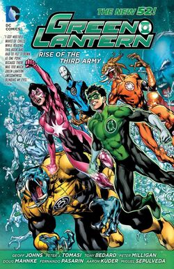 Cover for the Green Lantern: Rise of the Third Army Trade Paperback