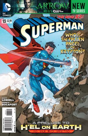 Cover for Superman #13 (2012)