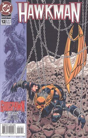 Cover for Hawkman #12 (1994)
