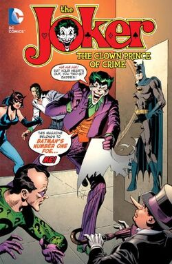 Cover for the The Joker: The Clown Prince of Crime Trade Paperback