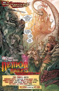 Pandora Demon Knights 001