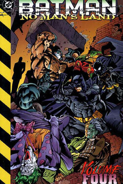 Cover for the Batman: No Man's Land Vol 4 Trade Paperback