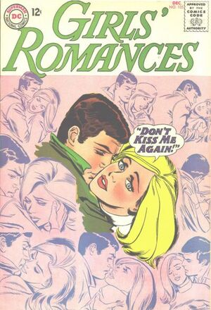 Cover for Girls' Romances #105 (1964)