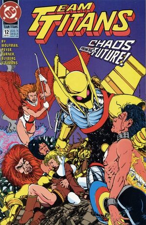 Cover for Team Titans #12 (1993)
