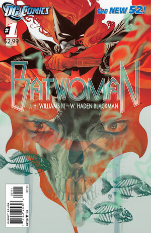 Cover for Batwoman #1 (2011)