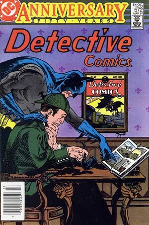 Cover for Detective Comics #572 (1987)
