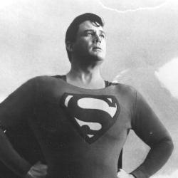 Holiday Superman mug