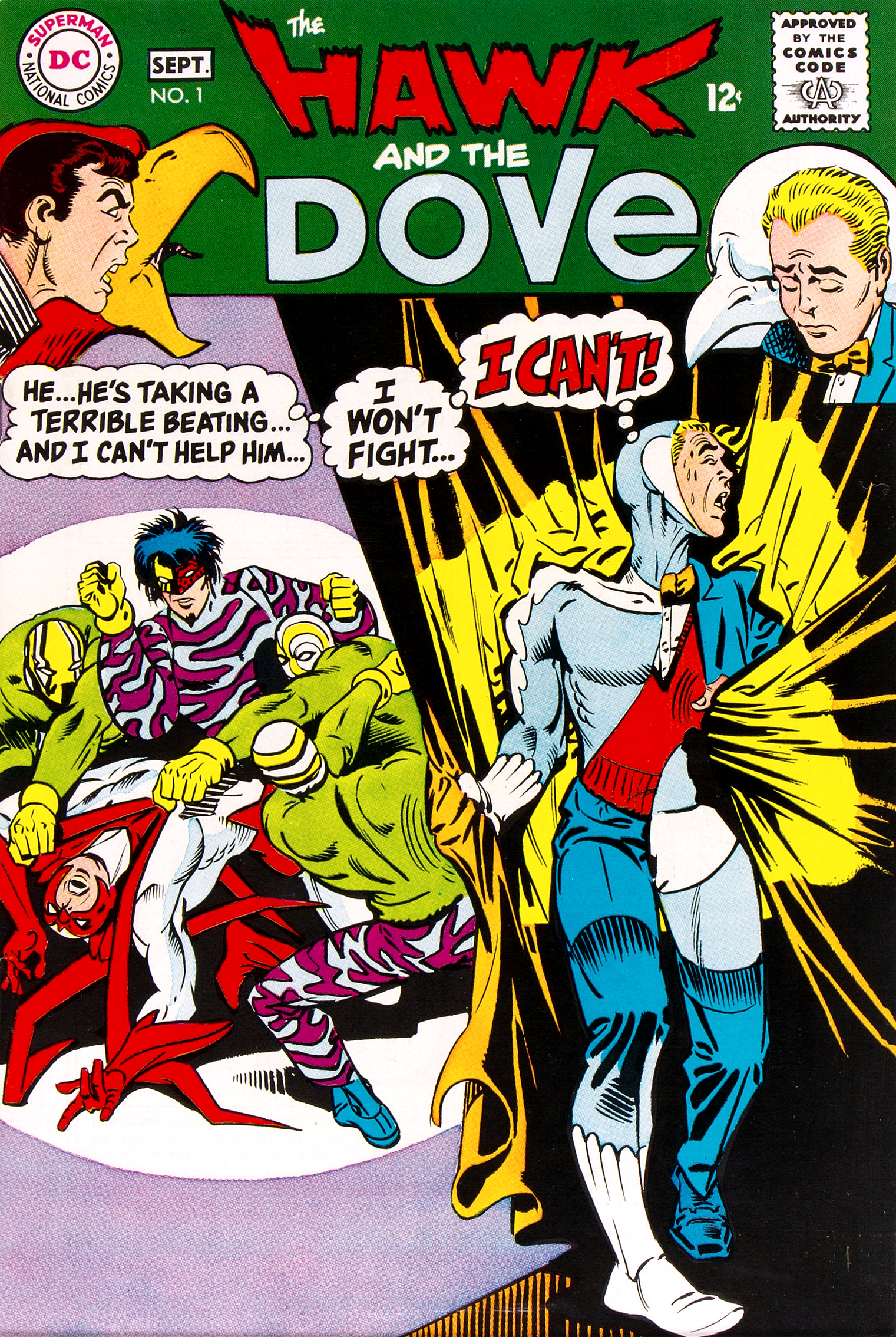hawk and dove vol 1 dc database fandom powered by wikia. Black Bedroom Furniture Sets. Home Design Ideas