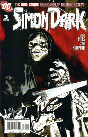 Cover for Simon Dark #3 (2008)
