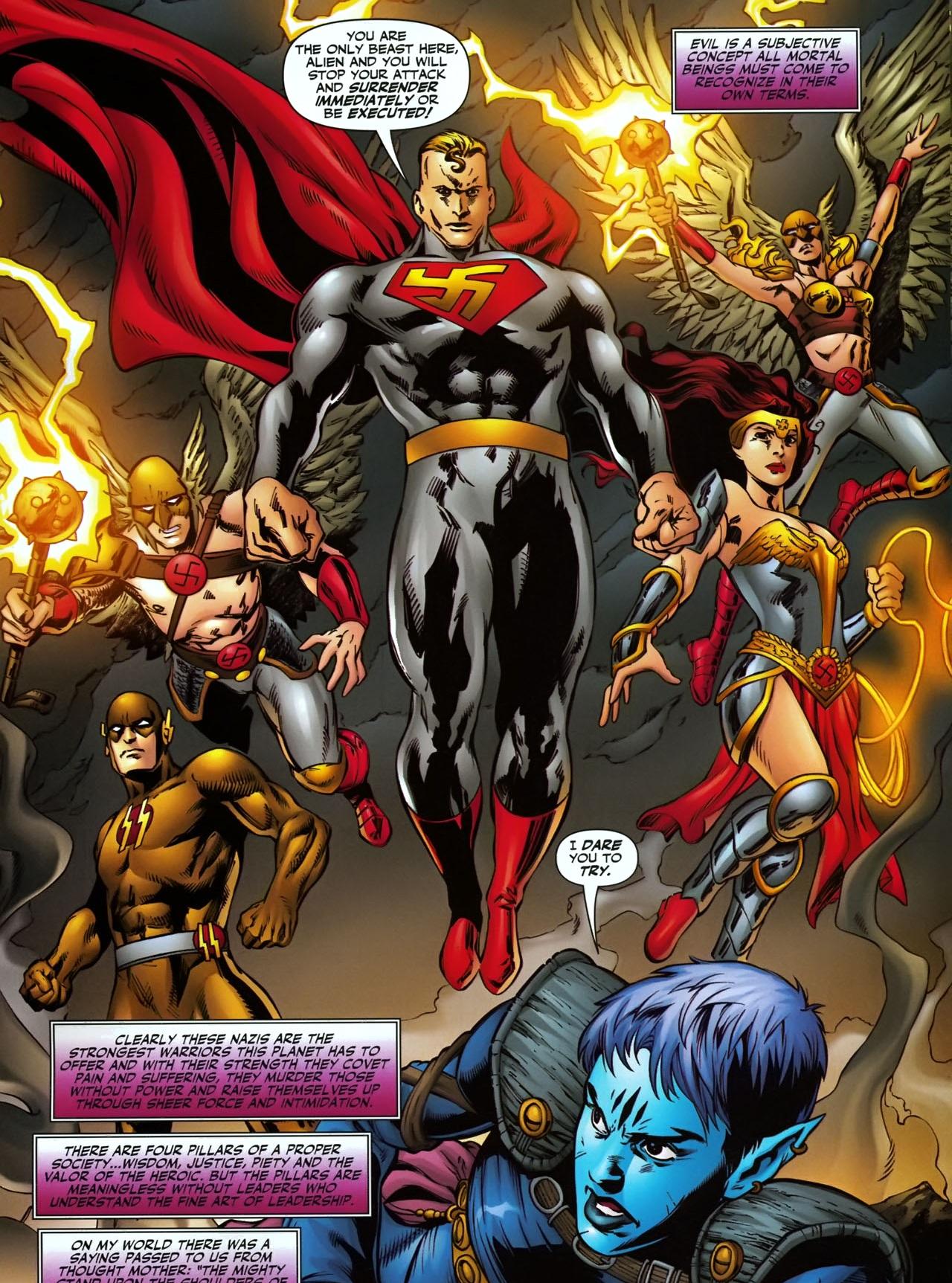 Jl vs doomsday the fall of the kryptonian - 3 8