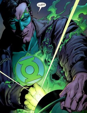 Green Lantern is an indomitable hero who's willpower is the stuff of legends.