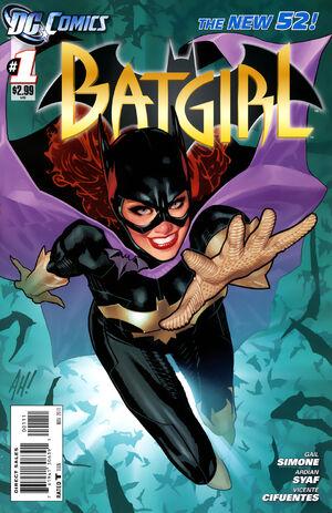 Cover for Batgirl #1 (2011)