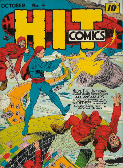 Image result for hit comics #4