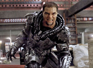 General Zod is a military general and leader of the Kryptonian defense forces.
