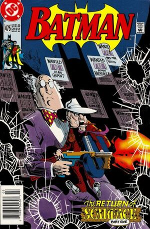 Cover for Batman #475 (1992)