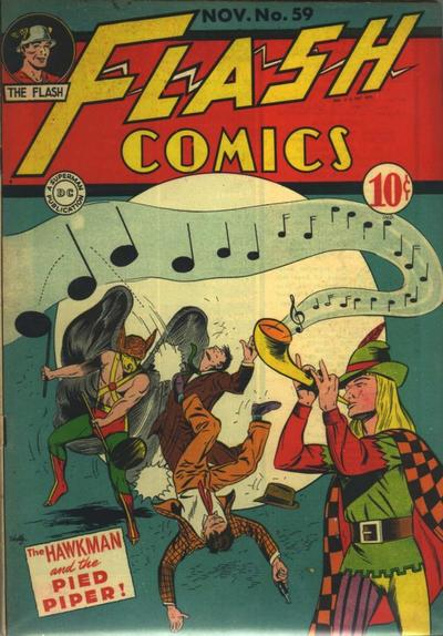 Pied Piper Comic Pied Piper · Flash Comics 59