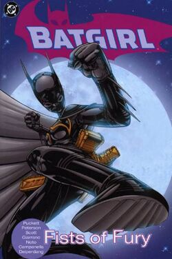 Cover for the Batgirl: Fists of Fury Trade Paperback