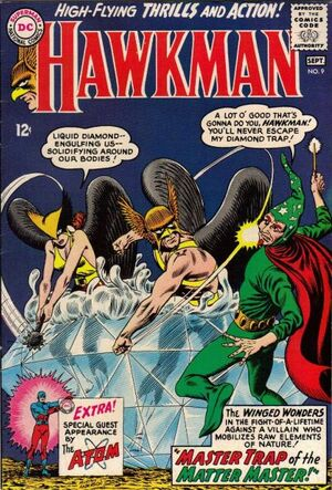 Cover for Hawkman #9 (1965)
