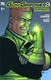 Guy Gardner Collateral Damage 1