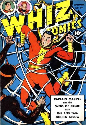Cover for Whiz Comics #89 (1947)