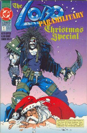 Cover for Lobo Paramilitary Christmas Special #1 (1991)