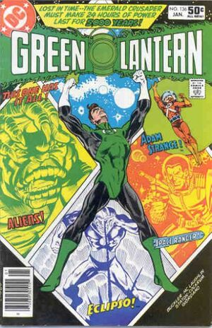 Cover for Green Lantern #136 (1981)
