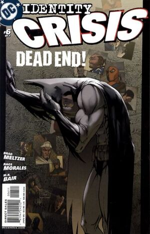 Cover for Identity Crisis #6 (2005)