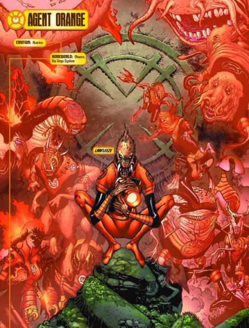 Orange Lantern Corps (New Earth) | DC Database | FANDOM ...
