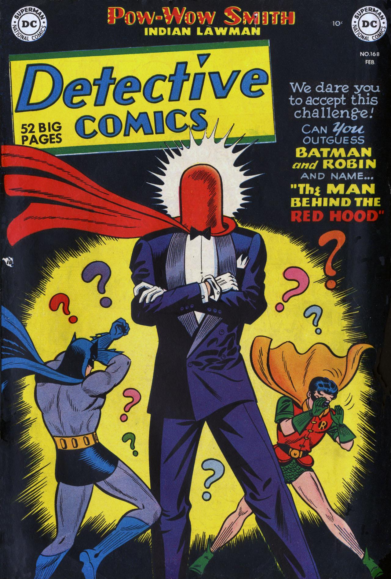 Detective Comics Vol 1 168 - DC Database - FANDOM powered ...
