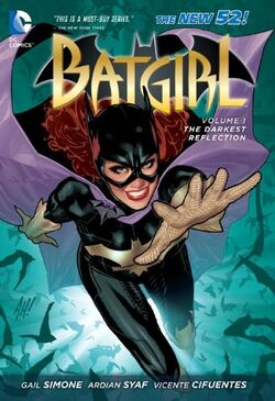 Cover for the Batgirl: The Darkest Reflection Trade Paperback
