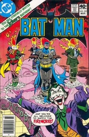 Cover for Batman #321 (1980)