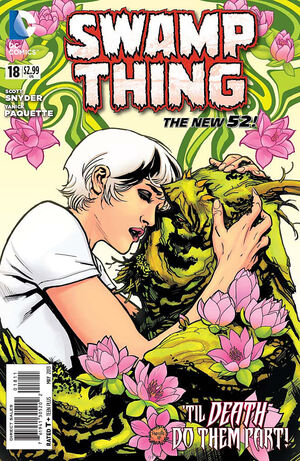 Cover for Swamp Thing #18 (2013)