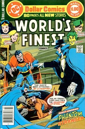 Cover for World's Finest #249 (1978)