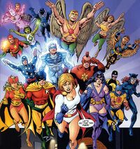 Justice Society Infinity 001